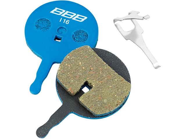 BBB DiscStop BBS-43T Disc Brake Pads Avid blue